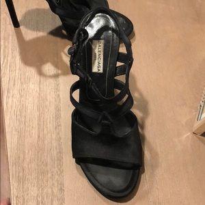 Balenciaga Satin Heels